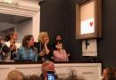 Самознищену картину Бенксі безкоштовно виставили в німецькому музеї