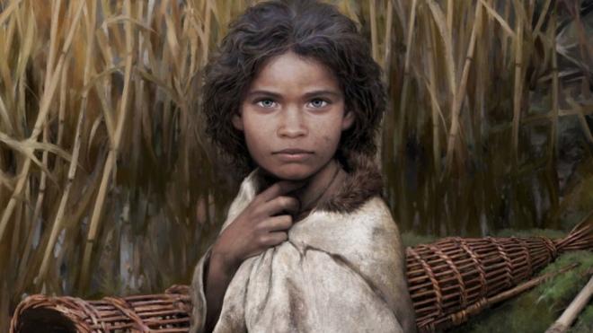 """Це обличчя жінки, яка жила 6 тисяч років тому у Скандинавії. Художник зробив реконструкцію жінки, якій дали ім'я """"Лола"""""""